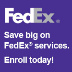 Enroll in the FedEx Advantage program for PPAI Distributors